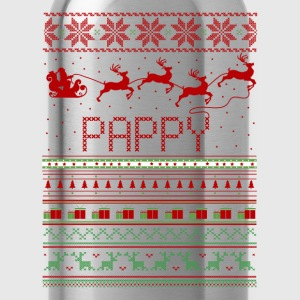 Pappy Ugly Christmas Sweater Xmas T-Shirts - Water Bottle