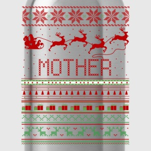 Mother Ugly Christmas Sweater Xmas T-Shirts - Water Bottle