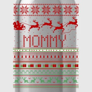 Mommy Ugly Christmas Sweater Xmas Long Sleeve Shirts - Water Bottle