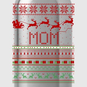 Mom Ugly Christmas Sweater Xmas T-Shirts - Water Bottle