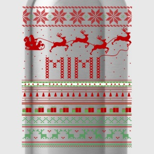Mimi Ugly Christmas Sweater Xmas T-Shirts - Water Bottle