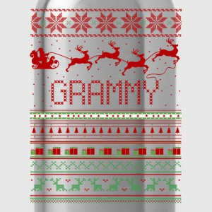 Grammy Ugly Christmas Sweater Xmas T-Shirts - Water Bottle