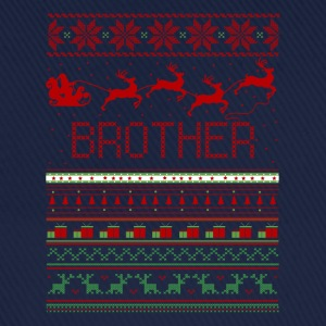 Brother Ugly Christmas Sweater T-Shirts - Baseball Cap