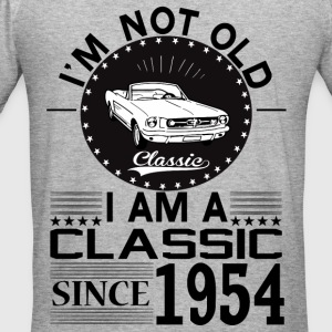 Classic since 1954 Hoodies & Sweatshirts - Men's Slim Fit T-Shirt