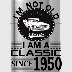 Classic since 1950 Hoodies & Sweatshirts - Water Bottle