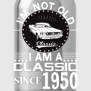 Classic since 1950 T-Shirts - Water Bottle