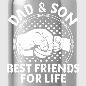 Dad And Son Best Friends For Life Shirts - Water Bottle