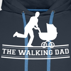 The Walking Dad T-Shirts - Männer Premium Hoodie