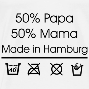 Made in Hamburg Baby Bodys - Männer Premium T-Shirt