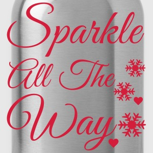 Sparkle all the way Long Sleeve Shirts - Water Bottle