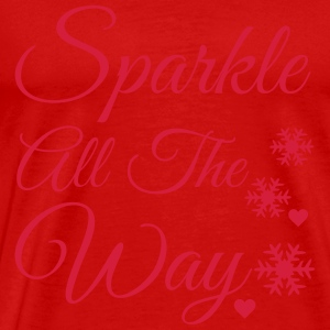 Sparkle all the way Long Sleeve Shirts - Men's Premium T-Shirt