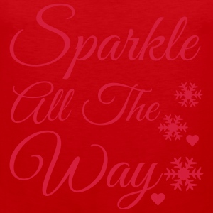 Sparkle all the way Long Sleeve Shirts - Men's Premium Tank Top