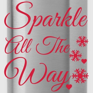 Sparkle all the way Baby Long Sleeve Shirts - Water Bottle