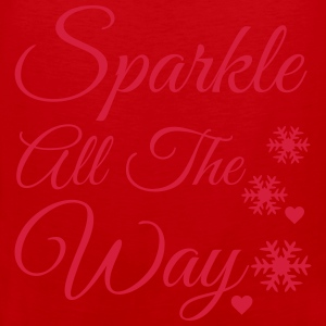 Sparkle all the way Baby Long Sleeve Shirts - Men's Premium Tank Top