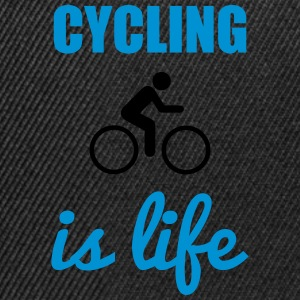 Cycling is life Bicicleta - Gorra Snapback