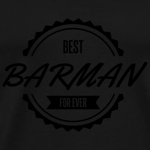best barman Mugs & Drinkware - Men's Premium T-Shirt