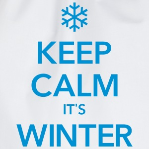 KEEP CALM IT'S WINTER  - Gymtas