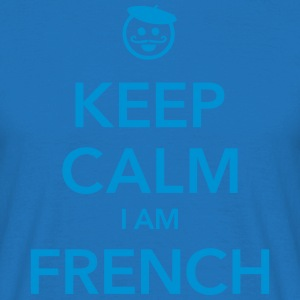 KEEP CALM I AM FRENCH  - Herre-T-shirt