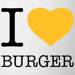 I LOVE BURGER - Kop/krus