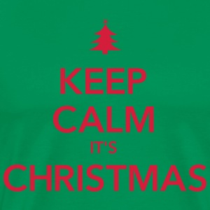 KEEP CALM IT'S CHRISTMAS - Men's Premium T-Shirt
