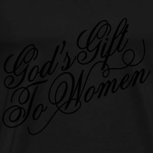 God's gift to women Baby Bodysuits - Men's Premium T-Shirt
