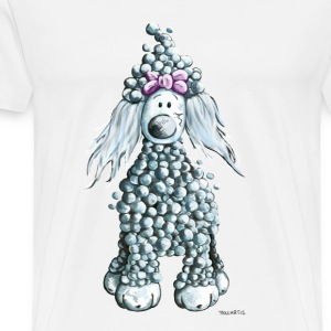 Cute  Poodle  Aprons - Men's Premium T-Shirt