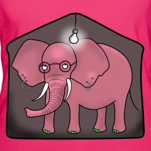 Elephant in the room tote bag - Women's Organic T-shirt