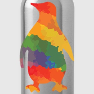Colorful Penguin - Water Bottle
