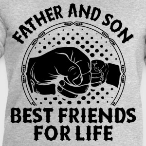 Father And Son Best Friends For Life T-Shirts - Men's Sweatshirt by Stanley & Stella