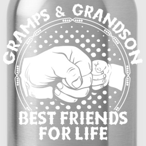 Gramps & Grandson Best Friends For Life T-Shirts - Water Bottle