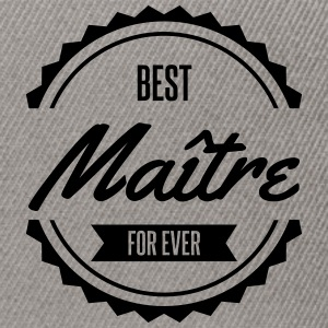 best maître Tee shirts - Casquette snapback