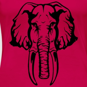 Elefant Tops - Frauen Premium T-Shirt