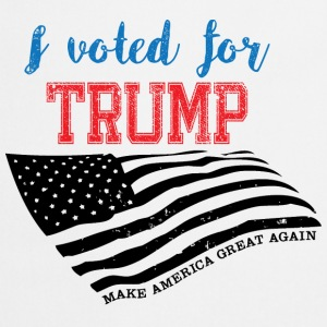 I voted for TRUMP Sweat-shirts - Tablier de cuisine
