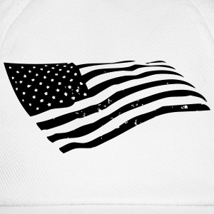 US Flag T-Shirts - Baseball Cap