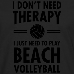 Therapy - Beach Volleyball T-Shirts - Men's Premium Longsleeve Shirt