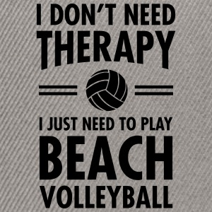 Therapy - Beach Volleyball T-Shirts - Snapback Cap