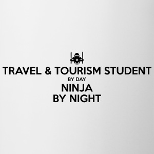 travel  tourism student day ninja by nig - Mug
