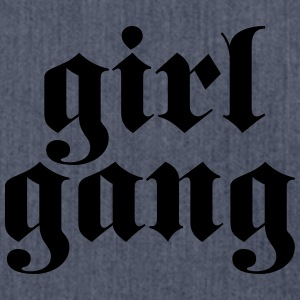 Girl Gang T-Shirts - Shoulder Bag made from recycled material