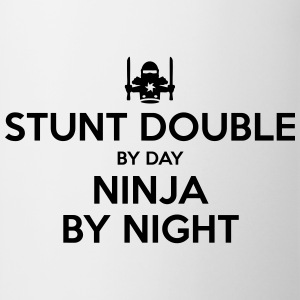 stunt double day ninja by night - Mug