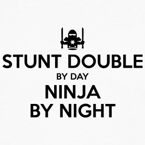 stunt double day ninja by night - Men's Premium Longsleeve Shirt