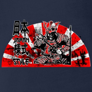 Samurai Japan Style Shirts - Organic Short-sleeved Baby Bodysuit