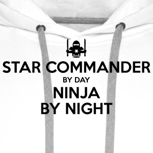 star commander day ninja by night - Men's Premium Hoodie