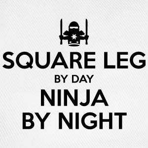 square leg day ninja by night - Baseball Cap