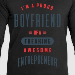 Boyfriend Awesome Entrepreneur - Men's Sweatshirt by Stanley & Stella