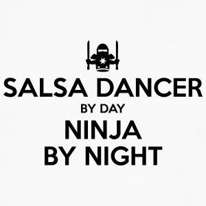 salsa dancer day ninja by night - Men's Premium Longsleeve Shirt