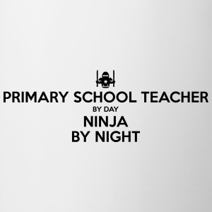 primary school teacher day ninja by nigh - Mug