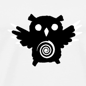 Night Owl Buttons - Men's Premium T-Shirt