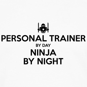 personal trainer day ninja by night - Men's Premium Longsleeve Shirt