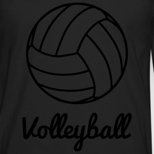 Volleyball Volley ball T-shirts - Långärmad premium-T-shirt herr