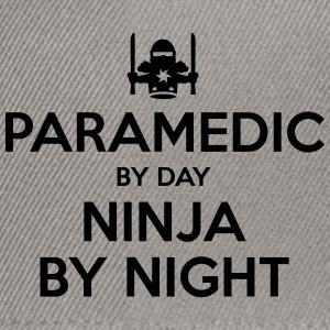 paramedic day ninja by night - Snapback Cap